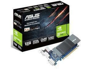 ASUS NVIDIA GeForce GT 710 Silent / Low Profile 1GB GDDR3 Graphics Card