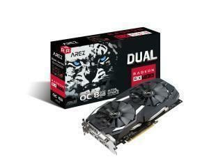 Asus AREZ Dual series Radeon RX 580 OC edition Graphics Card