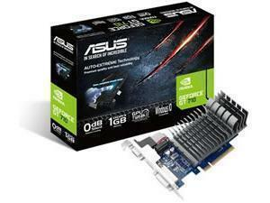 *B-stock item-90 days warranty*ASUS GeForce GT 710 Silent 1GB GDDR3 Graphics Card