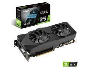 Asus Dual GeForce RTX 2060 Super EVO V2 OC 8GB Graphics Card