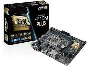 ASUS H110M-PLUS Intel H110 Socket 1151 Micro ATX Motherboard