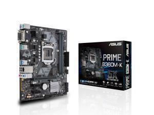 Asus PRIME B360M-K LGA 1151 B360 Micro-ATX Motherboard