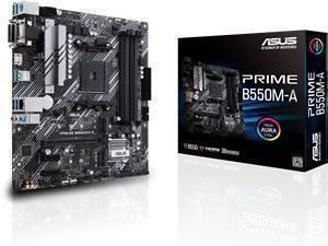 ASUS PRIME B550M-A AMD B550 Chipset Socket AM4 Micro-ATX Motherboard