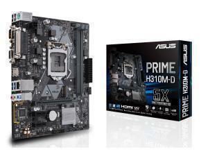 Asus PRIME H310M-D LGA 1151 H310 Micro-ATX Motherboard