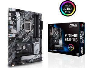 ASUS PRIME H470-PLUS LGA1200 H470 Chipset ATX Motherboard