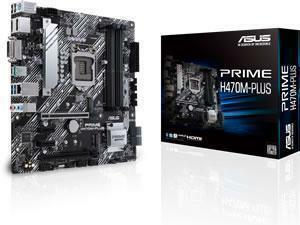 ASUS PRIME H470M-PLUS LGA1200 H470 Chipset mATX Motherboard