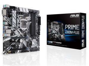 Asus Prime Z390M-Plus Z390 Chipset LGA 1151 Micro-ATX Motherboard