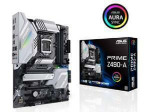 ASUS PRIME Z490-A LGA 1200 Z490 Chipset ATX Motherboard