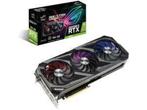 ASUS  NVIDIA GeForce RTX 3080 ROG STRIX OC 10GB GDDR6X Graphics Card