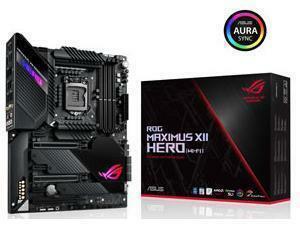 ASUS ROG MAXIMUS XII HERO Wi-Fi LGA 1200 Z490 Chipset ATX Motherboard
