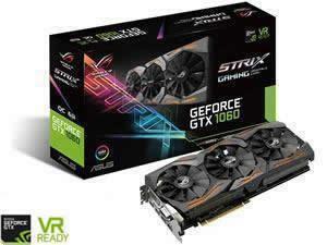 ASUS GeForce GTX 1060 ROG Strix Gaming OC 6GB GDDR5 Graphics Card