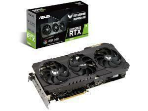 ASUS  NVIDIA GeForce RTX 3090 TUF GAMING OC 24GB Ampere Graphics Card