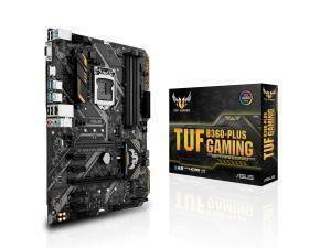 Asus TUF B360-PLUS GAMING LGA 1151 B360 ATX Motherboard