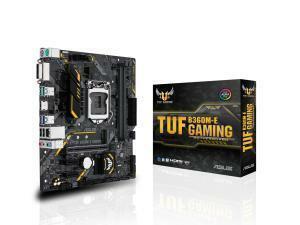 Asus TUF B360M-E GAMING LGA 1151 B360 Micro-ATX Motherboard