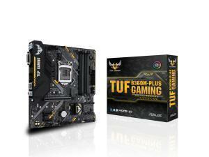 Asus TUF B360M-PLUS GAMING LGA 1151 B360 Micro-ATX Motherboard