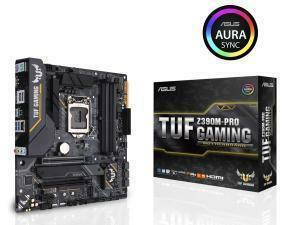 Asus TUF Z390M-Pro Gaming Z390 Chipset LGA 1151 Micro-ATX Motherboard