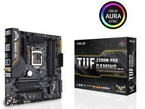 Asus TUF Z390M-Pro Gaming (Wi-Fi) Z390 Chipset LGA 1151 Micro-ATX Motherboard