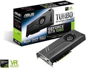 ASUS GeForce GTX 1060 TURBO 6GB GDDR5 Graphics Card