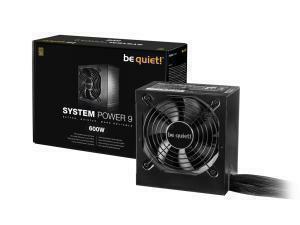 *B-stock item - 90 days warranty*BeQuiet! System Power 9 600W Power Supply