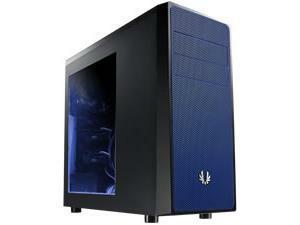 BitFenix Neos Mid Tower case, Black/Blue, Windowed