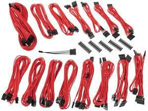 BitFenix Alchemy 2.0 PSU Cable Kit EVG-Series - Red