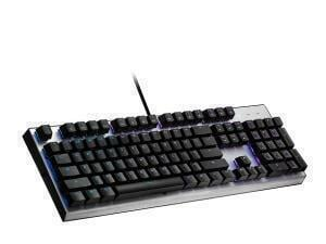 Cooler Master CK351 IP58 Rated Hot Swappable RGB Wired Mechanical Gaming Keyboard - Red Switch