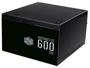 Cooler Master Masterwatt Lite 600W 80 PLus White Non-Modular PSU