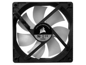 Corsair  120mm fan a1225312s version 31-005545 black frame / translucent white fan  RGB  3pin + 4 pin 12v RGB oem