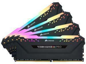 *B-stock item - 90 days warranty* Corsair Vengeance RGB Pro 32GB 4x8GB DDR4 3200MHz Quad Channel Memory RAM Kit