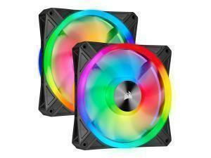 *B-stock item - 90 days warranty*Corsair iCUE QL140 RGB 120mm PWM Dual Fan with Lighting Node CORE