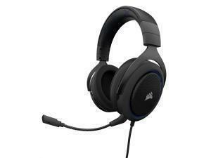 CORSAIR HS50 STEREO Gaming Headset, Blue