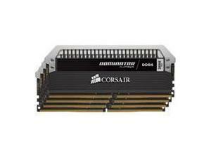 Corsair Dominator Platinum 16GB (4x4GB) DDR4 PC4-21300 2666MHz Quad Channel Kit