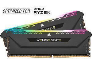 Corsair Vengeance RGB Pro SL 16GB (2x8GB) DDR4 3600MHz Dual Channel Memory (RAM) Kit AMD Ryzen Edition