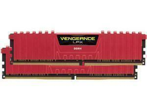 Corsair Vengeance LPX Red 16GB (2x8GB) DDR4 2400MHz Dual Channel Memory (RAM) Kit