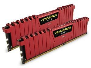 Corsair Vengeance LPX Red 16GB 2x8GB DDR4 PC4-19200 2400MHz Dual Channel Kit