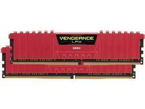 Corsair Vengeance LPX Red 32GB (2x16GB) DDR4 2666MHz Dual Channel Memory (RAM) Kit