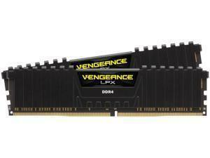Corsair Vengeance LPX Black 32GB 2x16GB DDR4 3000MHz Dual Channel Memory RAM Kit