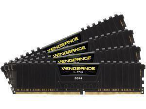 Corsair Vengeance LPX 32GB (4x8GB) DDR4 2400MHz Quad Channel Memory (RAM) Kit