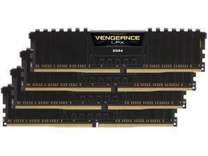 Corsair Vengeance LPX Black 64GB 4x16GB DDR4 PC4-21300 2666MHz Quad Channel Kit