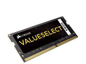 Corsair Value Select SODIMM 8GB 1x8GB DDR4 PC4-17000 2133MHz Single Module Skylake