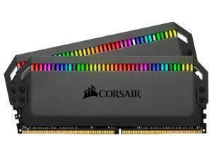 Corsair Dominator Platinum RGB 32GB 2x16GB 3600MHz Dual Channel Memory RAM Kit