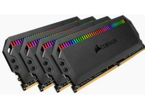 Corsair Dominator Platinum RGB 32GB 4x8GB 3600MHz Dual Channel Memory Kit