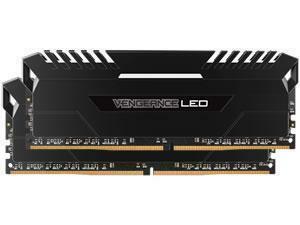 Corsair Vengeance White LED 16GB (2x8GB) DDR4 PC4-21300 2666MHz Dual Channel Kit