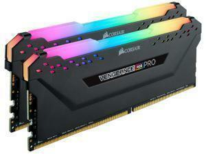 Corsair Vengeance RGB Pro 16GB 2x8GB DDR4 3600MHz Dual Channel Memory RAM Kit