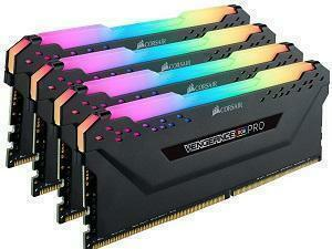 Corsair Vengeance RGB Pro 32GB 4x8GB DDR4 3000MHz Quad Channel Kit