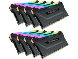 Corsair Vengeance RGB Pro 64GB (8x8GB) DDR4 3000MHz Quad Channel Kit