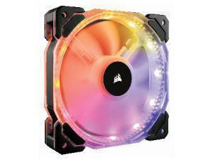 Corsair HD120 RGB LED High Performance 120mm PWM Fan - Triple Pack with Controller