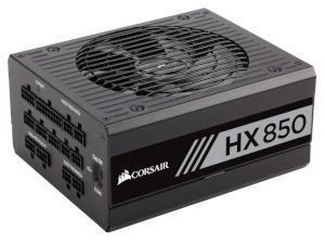 Corsair HX Series™ HX850 — 850 Watt 80 PLUS® Platinum Certified Fully Modular PSU