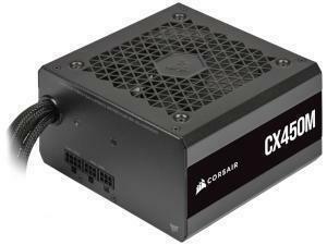 Corsair CX-M Series 450W 80 PLUS Bronze Semi-Modular ATX Power Supply