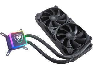 Cougar Aqua 240mm CPU Liquid Cooling with Addressable RGB and a Remote Controller